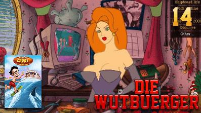 Die Wutbuerger:  Leisure Suit Larry 7: Yacht nach Liebe #14 – Hm lecker Schoki!