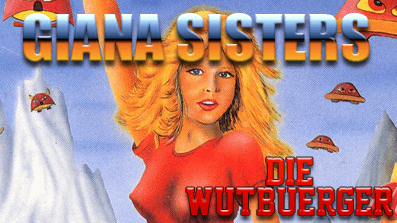 Die Wutbuerger: The Great Giana Sisters (C64)