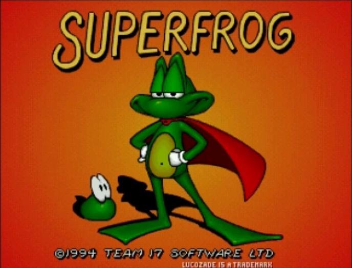 Superfrog_Title