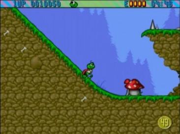 Superfrog Amiga CD32