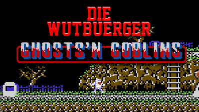 Die Wutbuerger: Let´s Play Ghosts´n Goblins (C64)