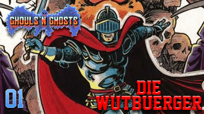 DieWutbuerger: Let´s Play Ghouls´n Ghosts #01 (C64)