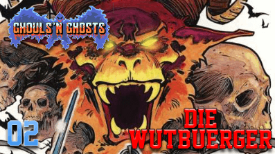 DieWutbuerger: Let´s Play Ghouls´n Ghosts #02 (C64)