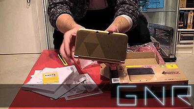 Germany Needs Retro – 3DS XL Zelda Edition – Unboxing