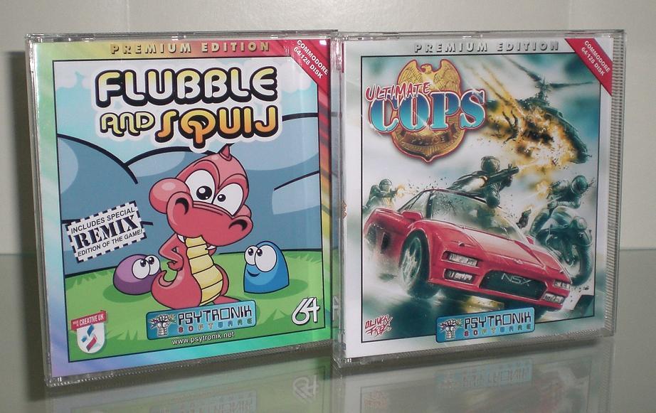 Flubble+UltimateCopsC64