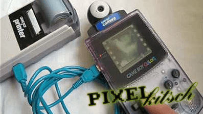 PIXELKITSCH # 07: GAMEBOY CAMERA STOP-MOTION