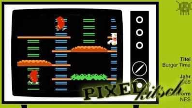 PIXELKITSCH #102: Burger Time auf dem NES
