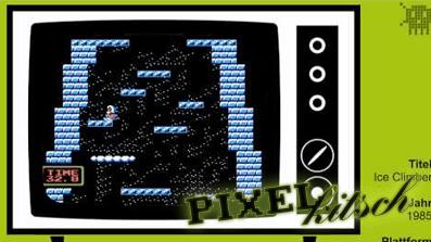 PIXELKITSCH#105: Ice Climber NES