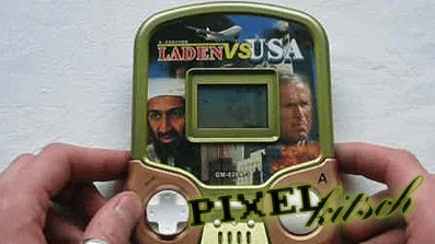 PIXELKITSCH #23: LADEN vs USA – LCD-Handheld