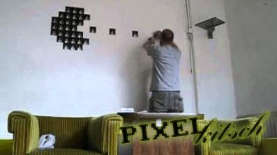 PIXELKITSCH #44: PACMAN Disketten Stop Motion