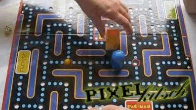 PIXELKITSCH # 68: das offizielle PACMAN Brettspiel