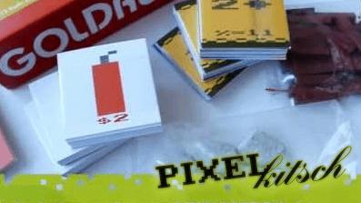 PIXELKITSCH # 99: Goldrush Brettspiel
