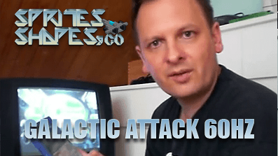 Sprites, Shapes &Co #02 – Galactic Attack 60Hz