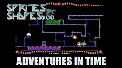 Sprites, Shapes & Co #03 – Adventures In Time