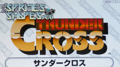 Sprites, Shapes &Co #04: Thunder Cross
