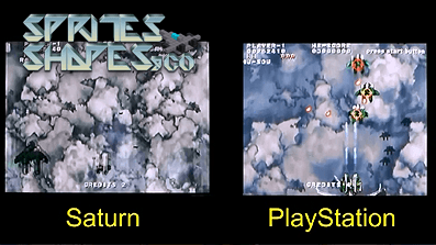 Sprites, Shapes & Co #15: Soukyugurentai (Terra Diver) – PSX vs. SAT