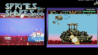 Sprites, Shapes & Co #18: Empire of Steel / Steel Empire – Mega Drive vs. Gameboy Advance