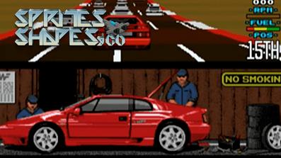 Sprites, Shapes & Co #23: 16-Bit Racer