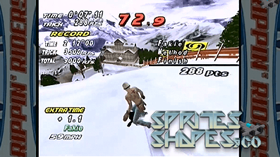 Sprites, Shapes & Co #49: Dreamcast Racing Games im Schnee