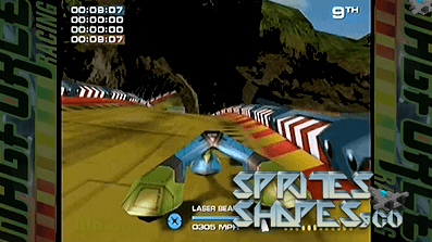 Sprites, Shapes & Co #51: Dreamcast Racing Games – Future Racing