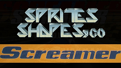 Sprites, Shapes & Co: Screamer (Bleifuss)