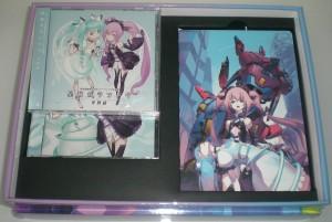 Die Super LE beinhaltet zwei OST CDs
