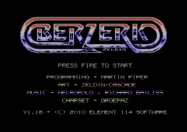 Berzerk Redux (C64)