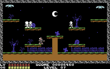 Guns 'N' Ghosts (C64)