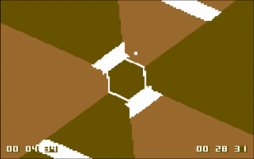 Micro Hexagon (C64)