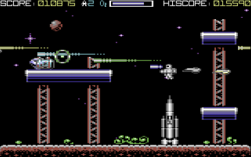Rocket Smash EX (C64)