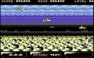 Sub Hunter (C64)