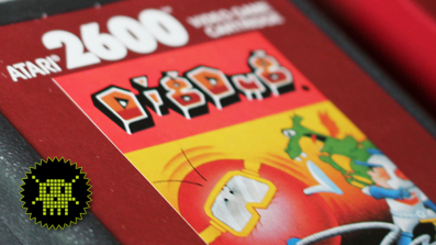 PIXELKITSCH #118: Dig Dug für das Atari VCS 2600 / Pixelquickie
