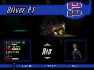 """Rollcage Driver """"Ria"""""""