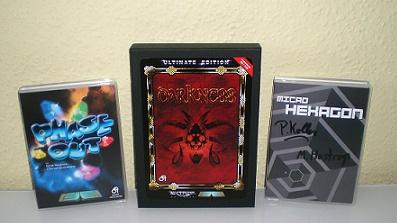 Phase Out, Darkness und Micro Hexagon für den C64 von RGCD