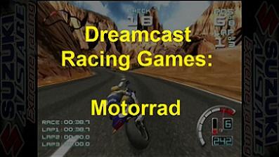 Dreamcast Racing Games: Motorrad