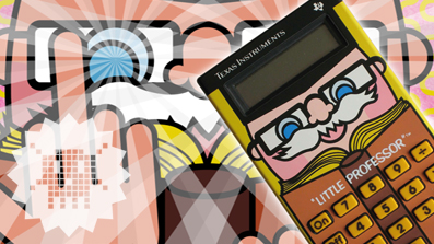 PIXELKITSCH #136: Little Professor Texas Instruments