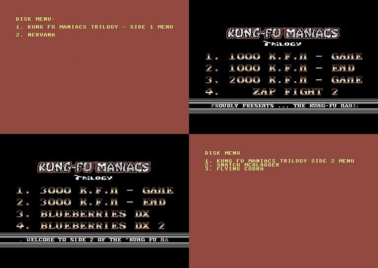 Kung-FuManiacsTrilogyDisk-menus