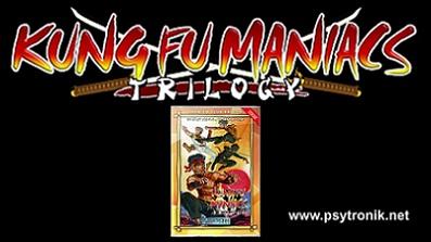 Kung-Fu Maniacs Trilogy (C64)