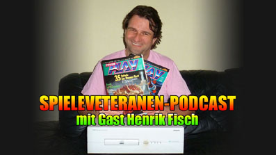 Spieleveteranen-Podcast mit Gast Henrik Fisch