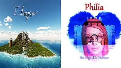 Elansar und Philia für Dreamcast