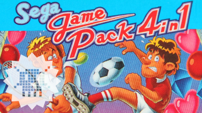 PIXELKITSCH #144: SEGA GAME PACK 4 in 1