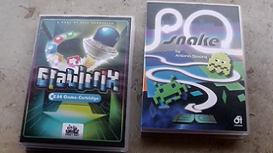 Gravitrix und P0 Snake (C64)