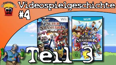 Videospielgeschichte #4 – Super Smash Bros. Teil 3