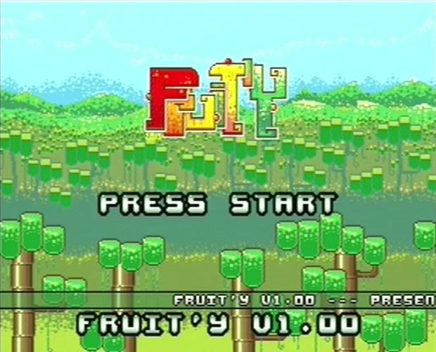 Fruit'Y_dreamcast_title