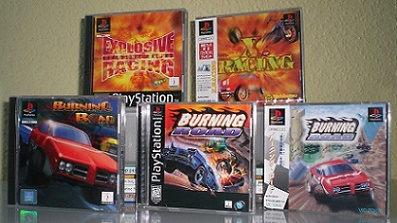Burning Road und Explosive Racing (Burning Road 2)