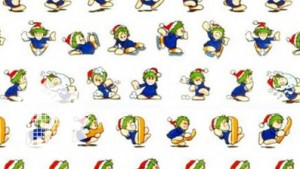 Pixelkitsch Christmas Lemmings