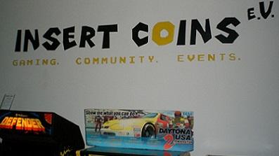 Insert Coins e.V. Eröffnung am 27.02.2016