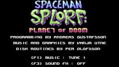 Spaceman Splorf: Planet of Doom (C64) auf Cartridge?