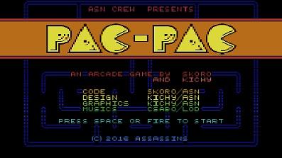 """Neues Spiel """"Pac-Pac"""" für C16(64K) / Plus/4"""