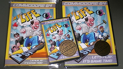 My Life (Neues Spiel 2016 für C64)